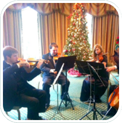 Musicians Playing Christmas Music